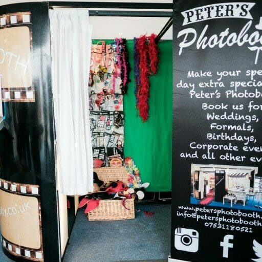 Traditional booth